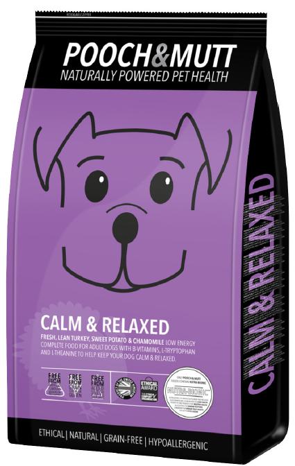Speciaal hondenvoer Calm and Relaxed van Pooch en MUTT   1 stuk