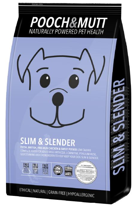 Speciaal hondenvoer Slim and Slender van Pooch en MUTT   1 stuk