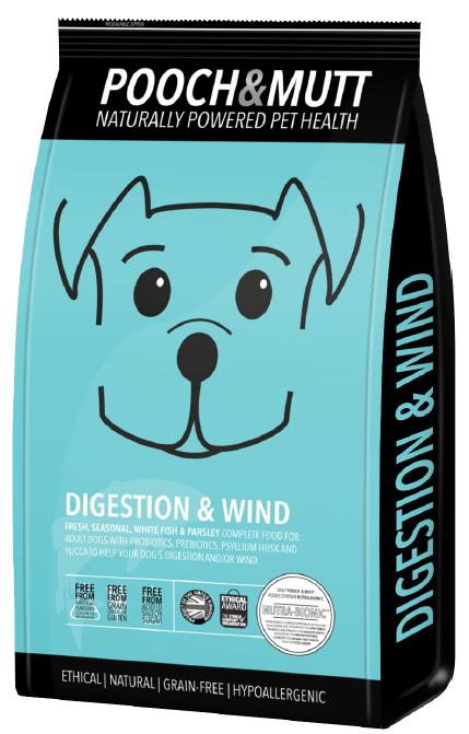 Speciaal hondenvoer Digestion and Wind van Pooch en MUTT  1 stuk